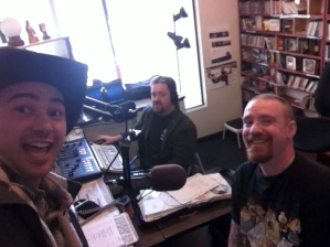 Kickin it with Mutt and Bob at KRFC in Fort Collins. It was a blast to chat with those dudes and play some tunes live!