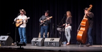 Ty's guitar mentor and 2X National Flat Pick Champion Gary Cook honored Ty by sitting in with the band for a few songs with great rippin' electric guitar leads by Gary! Ty began guitar lessons with Gary at the early age of 8. Gary is the leader of the very popular Bar D Wranglers.